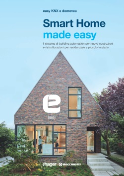 Brochure smart home made easy with domovea Hager Bocchiotti